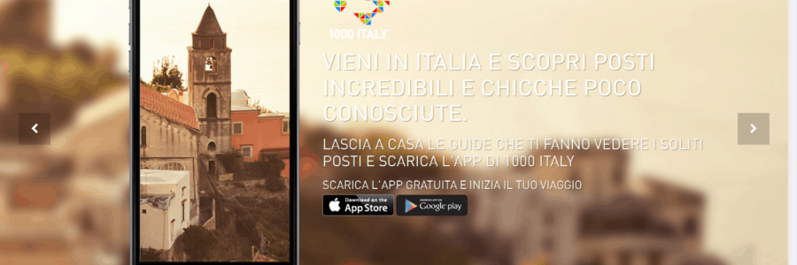 1000 Italy: l'Italia che conosciamo, raccontata a tutti gli altri