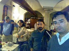 Tristan, Diana, Francesco, Guido