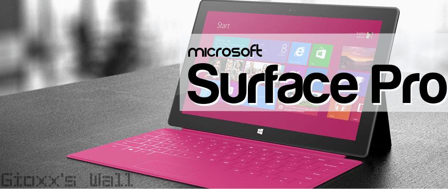 Microsoft Surface Pro sul Banco Prova 1