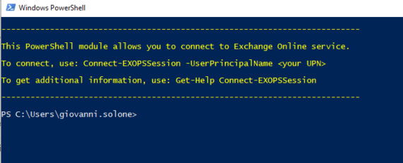 PowerShell e Multi-Factor Authentication di Microsoft