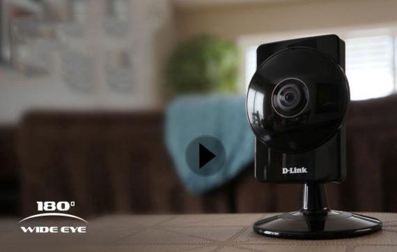 D-Link DCS-960L: una visione HD a 180°