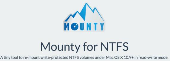 macOS e NTFS: Mounty