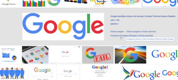 """Google Immagini: riottenere il pulsante """"Visualizza immagine"""" 5"""