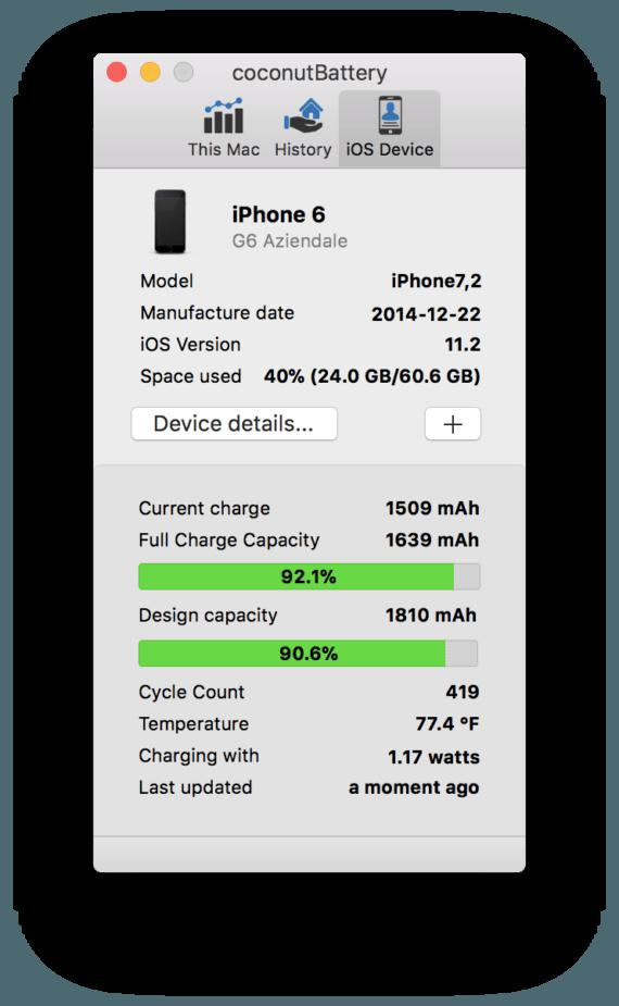 iPhone: come posso capire se devo cambiare la mia batteria? 1