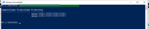 PowerShell: recuperare la Product Key di Office
