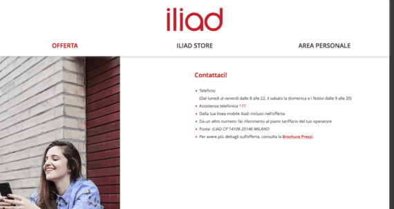 Iliad è arrivata in Italia, non senza problemi 13
