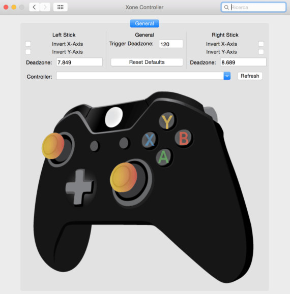 Utilizzare il controller della Xbox 360 o della One su OS X 3