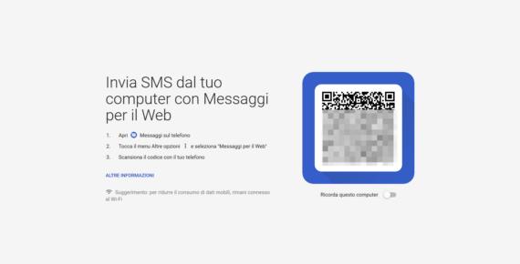 La WhatsApp-mania contagia anche gli SMS: Messaggi Web per Android