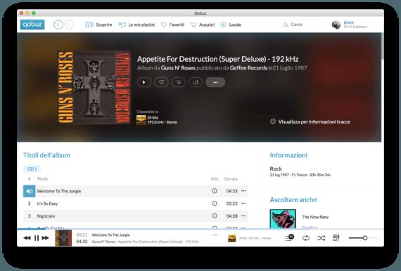 Qobuz è l'audio ad alta definizione per l'alto ceto musicale 4