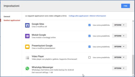 Cambiamento che interessa i backup di WhatsApp su Google Drive 2