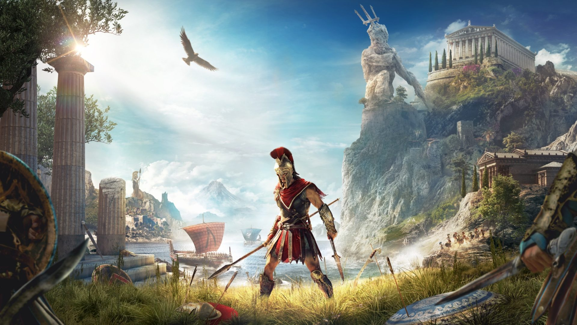 Assassin's Creed Odyssey ci porta nelle battaglie tra Sparta e Atene 1
