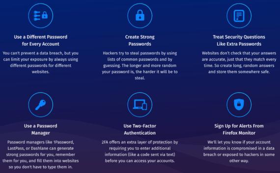 Firefox Monitor ti avvisa in caso di furto credenziali 3