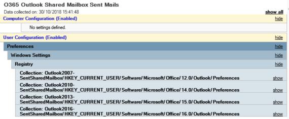 Office 365: salvare una copia della Posta Inviata di una Shared Mailbox
