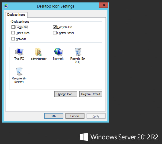 Windows 2012 R2: mostrare l'icona This PC senza Desktop Experience 1