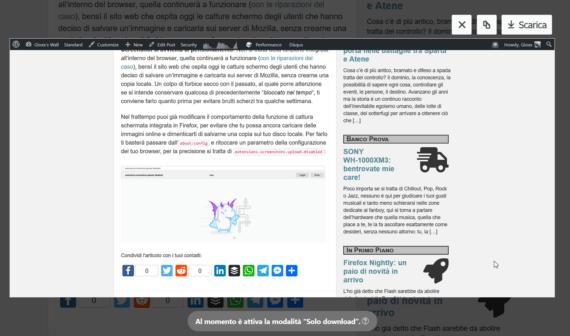 Firefox: Addio agli screenshot, benvenuto nuovo about:config! 3