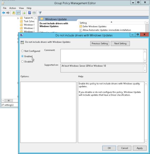 Bloccare l'installazione driver su Windows 10 1
