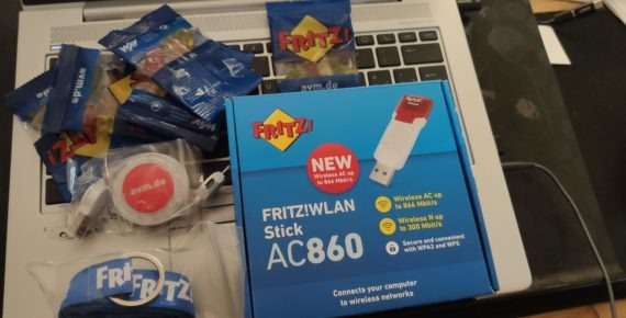 AVM FRITZ!WLAN Stick AC869: potenzia la ricezione wireless sul tuo PC fisso
