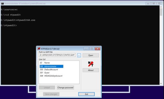 Windows 10: cambiare la password dell'amministratore 1