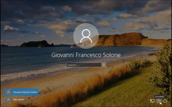 Windows 10: cambiare la password dell'amministratore 4