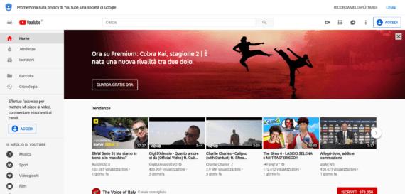 YouTube Classic per Mozilla Firefox