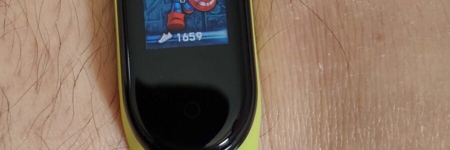 Xiaomi Mi Band 4: caricare un nuovo quadrante