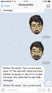 Porta i tuoi stickers iOS personalizzati su Telegram, su qualsiasi piattaforma 2