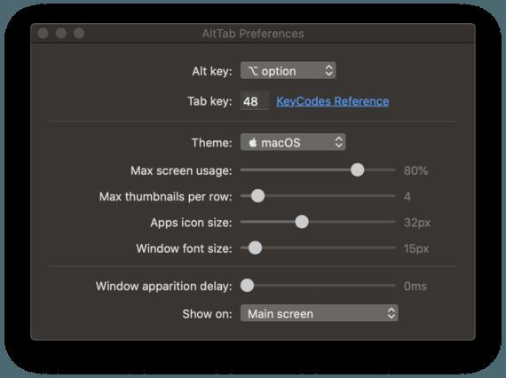 Alt-Tab per macOS: quel tocco di Windows per la mela 1