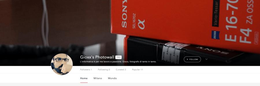 Gioxx's Photowall: quell'esperimento partito forse nell'anno sbagliato