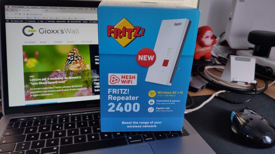 AVM FRITZ!Repeater 2400 e FRITZ!Powerline 1260E WLAN Set: un po' di novità in casa