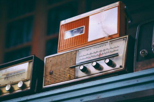 radio, old, vintage