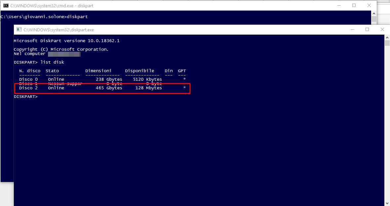 Formattare un disco in HFS senza usare macOS 1