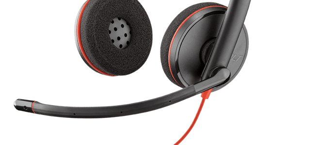 Plantronics Blackwire C3220, cuffie stereo USB
