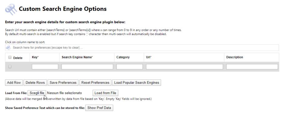 Ricerche multiple con Firefox e Custom Search Engine 1