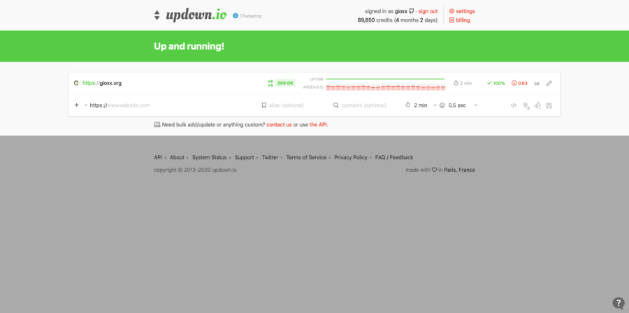 Monitoraggio HTTP: un paio di alternative