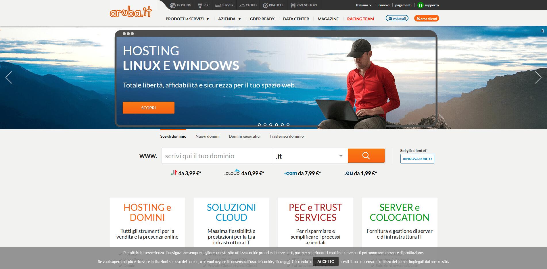 """Phishing: Aruba e quegli """"urgenti problemi di pagamento"""""""