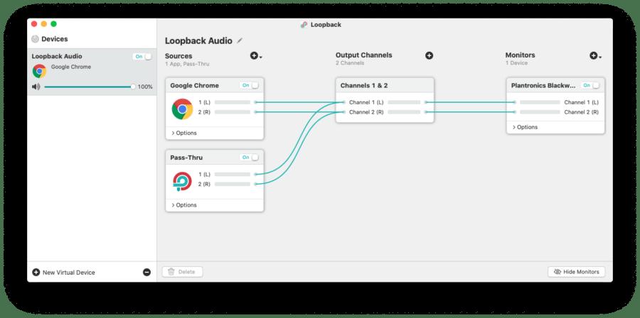 Gestire le sorgenti audio su macOS 15