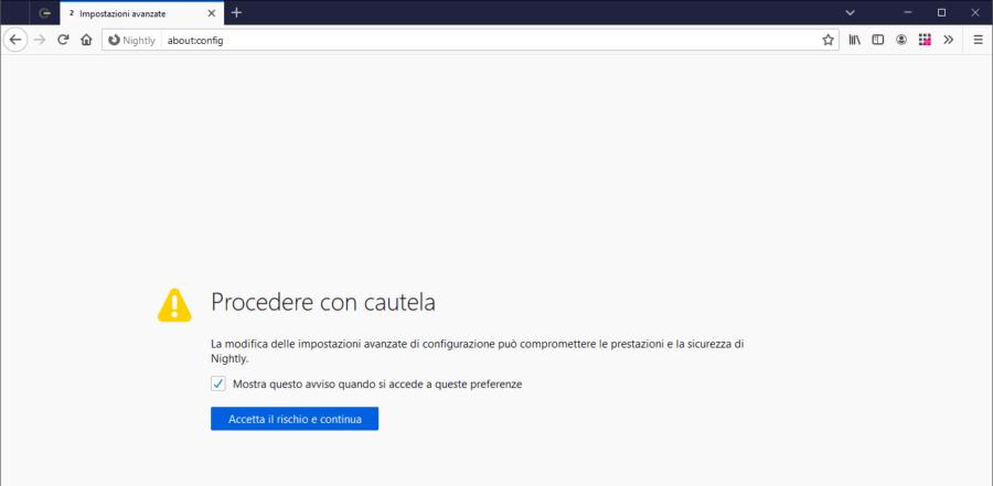 Un numero per contare (e selezionare) facilmente le schede di Firefox 2