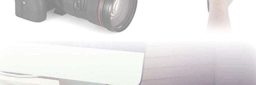 Dazzne microfono compatto per fotocamere Sony, Canon, Nikon, Pentax DSLR