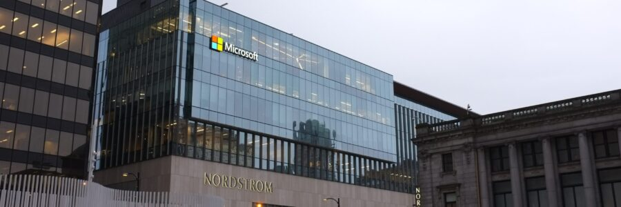 Microsoft building in Vancouver, BC, Canadá