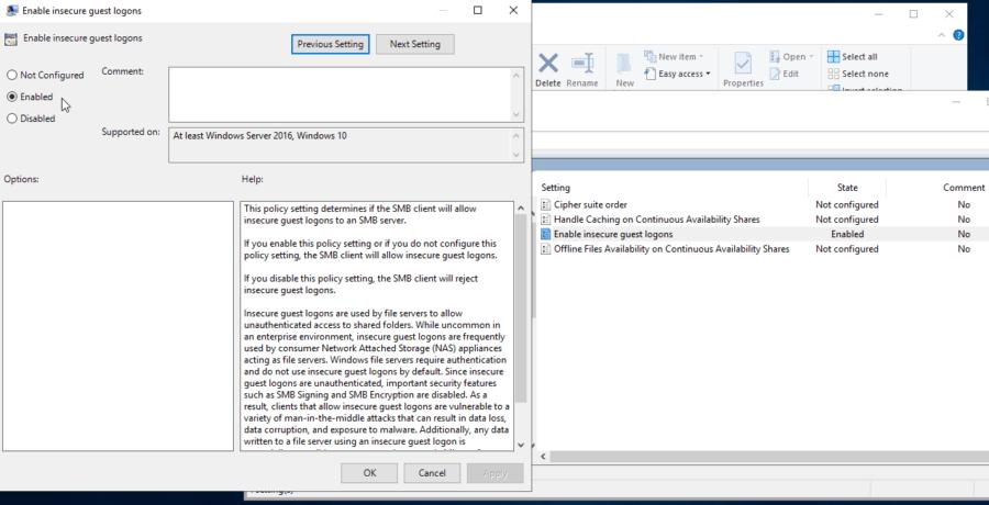 Una vista stampanti più dettagliata per Windows 2012/2016/2019 2