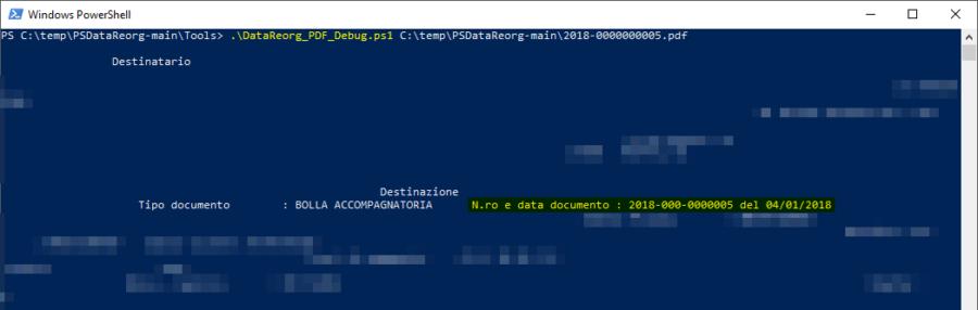 PSDataReorg: riorganizzare file PDF in base alla data riportata al loro interno 1