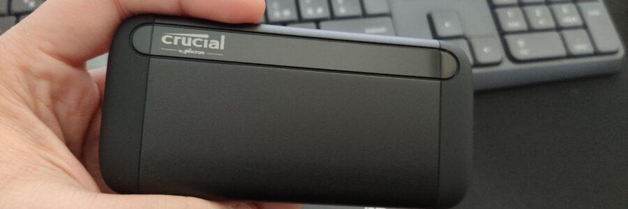 Crucial X8 Portable SSD (1TB) 2