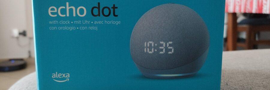 Nuovo Echo Dot (4ª generazione) - Altoparlante intelligente con orologio e Alexa 1