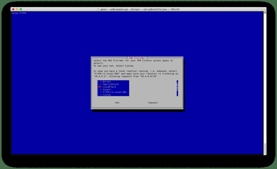 Raspberry: installare e configurare WireGuard con PiVPN 15