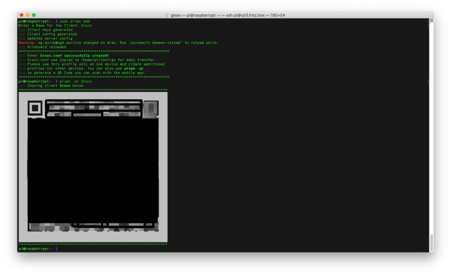 Raspberry: installare e configurare WireGuard con PiVPN 3