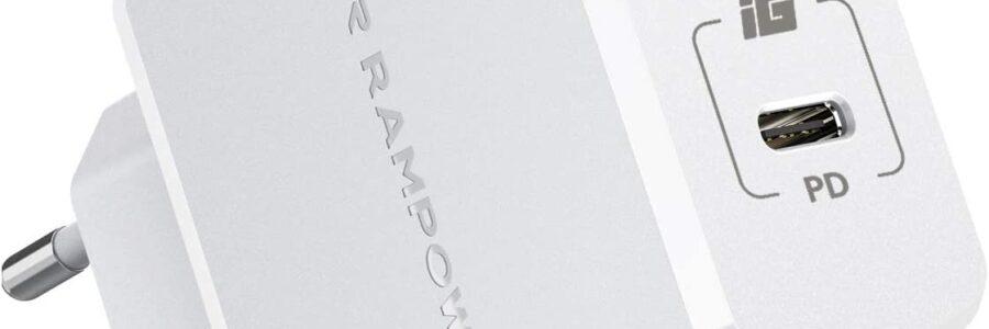 JOOMFEEN caricatore USB da muro con Quick Charger 3.0 30W/6A 1