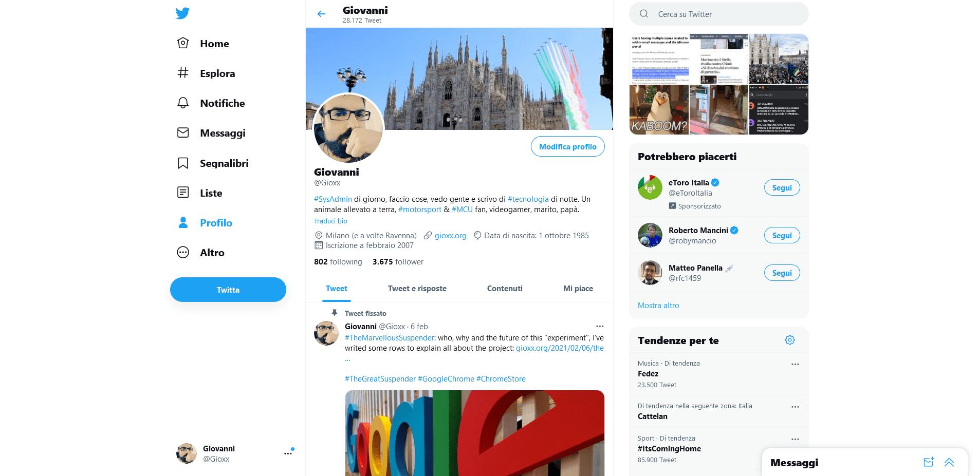 Twitter: come escludere hashtag e parole dal proprio feed 3