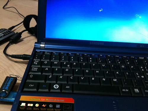Samsung NC10 e Windows 7