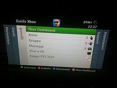 Xbox 360: aggiornamento Dashboard