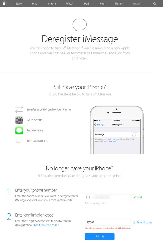 Deregister iMessage screenshot-selfsolve apple com 2014-11-24 08-44-23